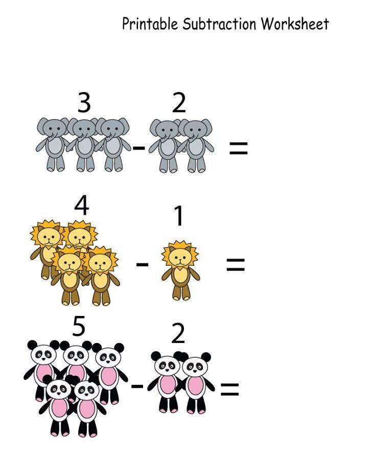 Free printable math worksheets | funnycrafts | Toplama-Çıkarma ...
