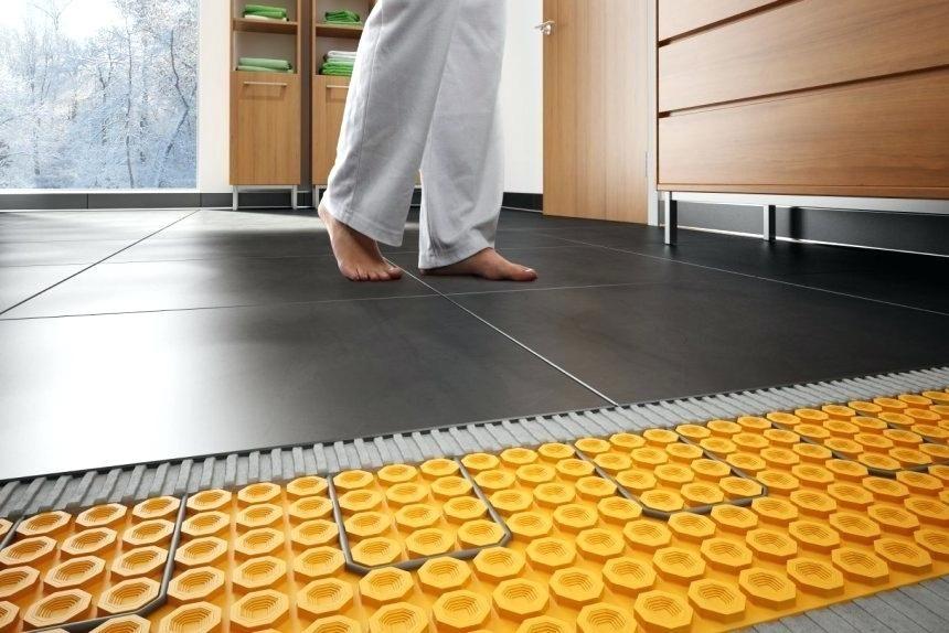 Electric Radiant Floor Mat Reviews U2013 Gurus Floor Floor Heating Systems Heated Floors Radiant Floor Heating