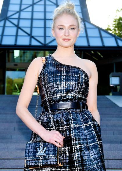 Sophie Turner attends the Louis Vuitton Resort 2018 show at the Miho Museum on May 14, 2017 in Koka, Japan