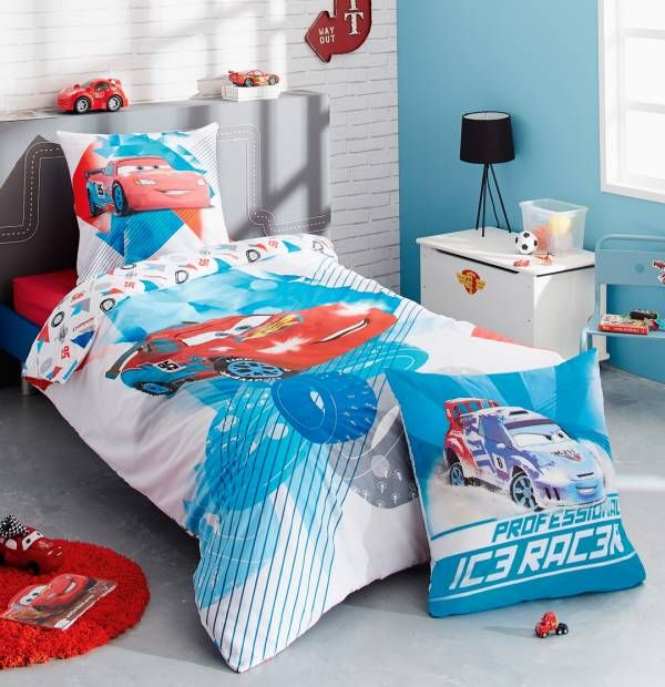 collection de linge de lit pour enfants cars disney lingedelitenfant chambreenfant cars. Black Bedroom Furniture Sets. Home Design Ideas