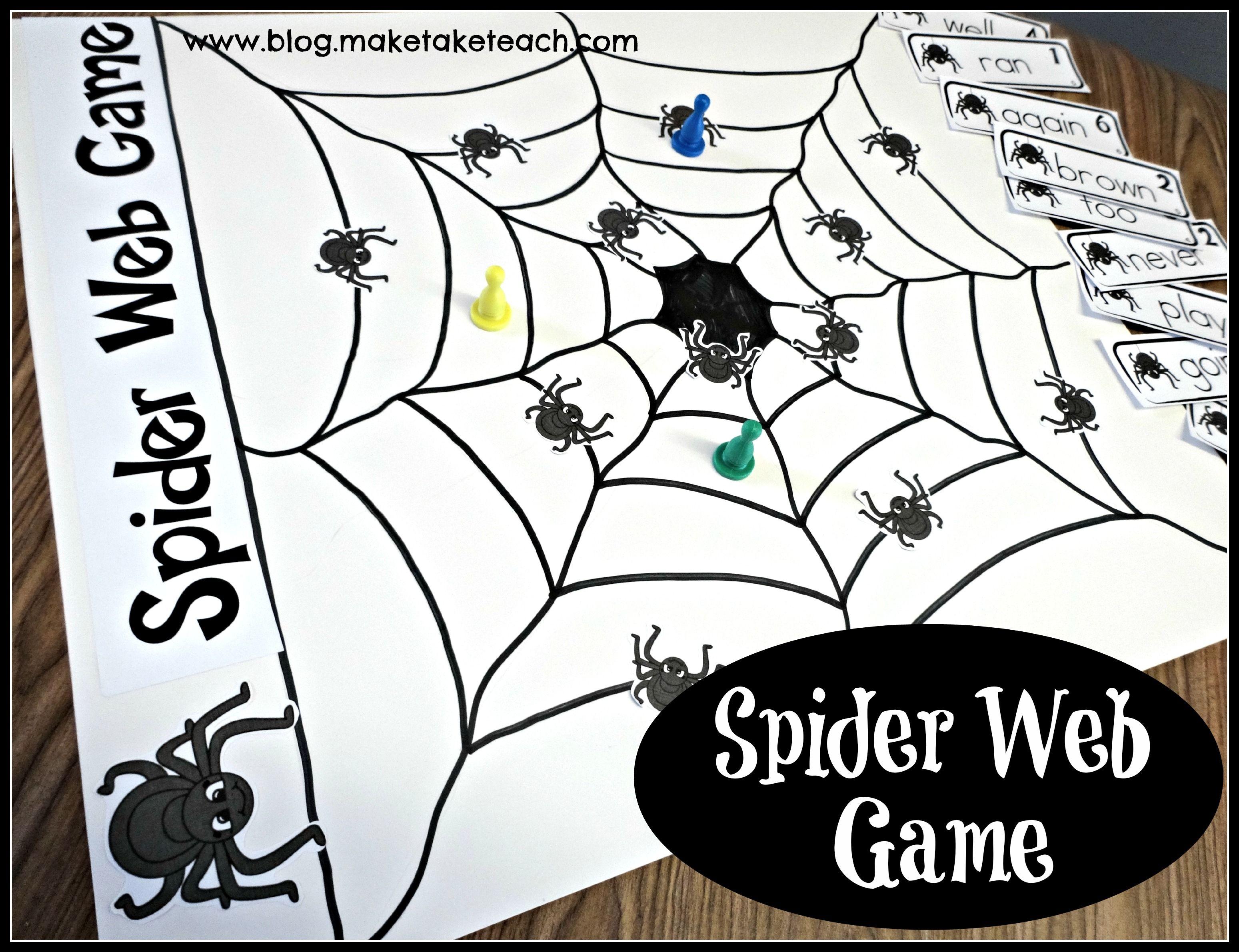 Spider Web Game