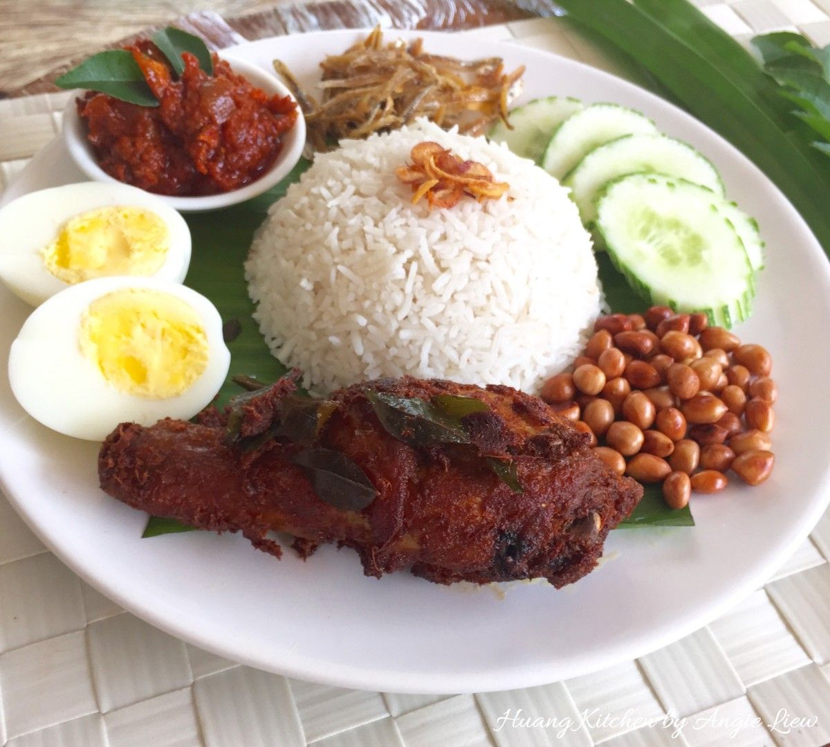 Ayam Goreng Berempah (Malay Spiced Fried Chicken)