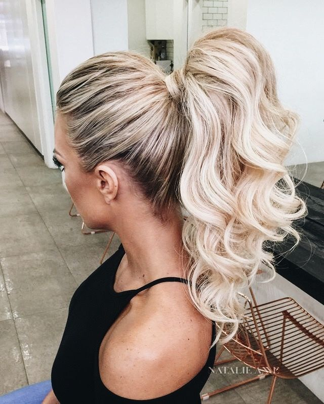 See The Latest Hairstyles On Our Tumblr It S Awsome High Ponytail Hairstyles Ponytail Hairstyles Medium Hair Styles