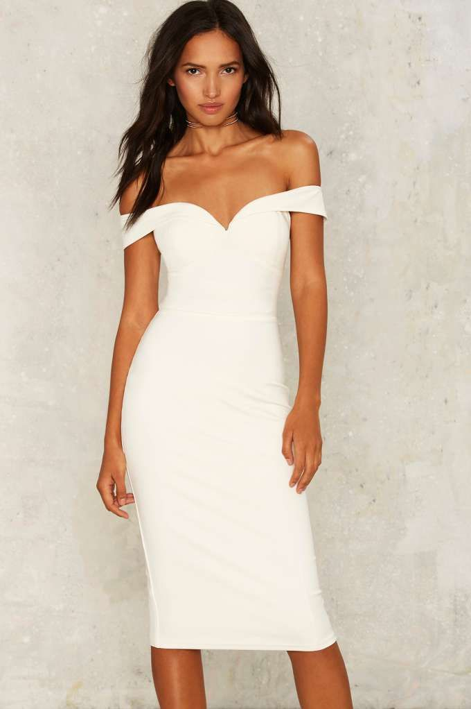 Off White Dresses Party Dresses