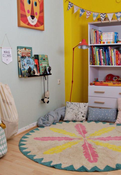 Waschbare Teppiche für Kinder Kinderteppiche, Teppich