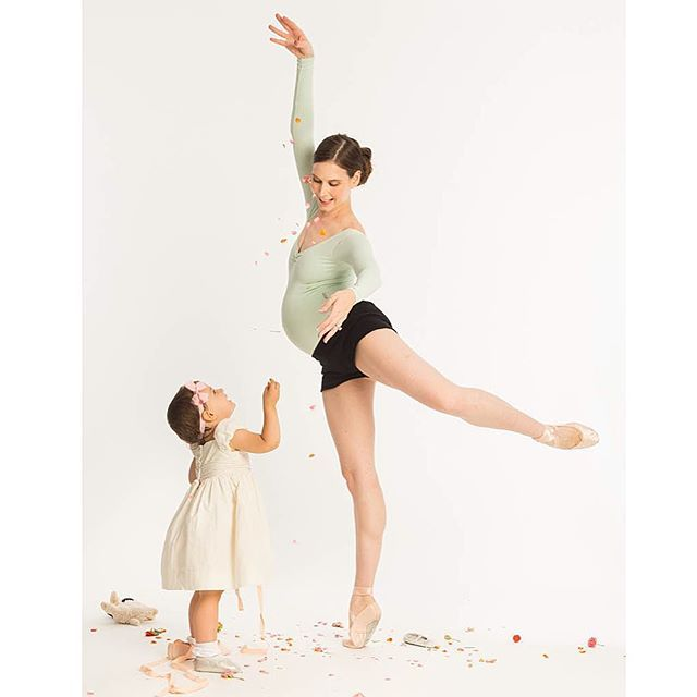 #Dancing with my Babies Thanks to all for the kind wishes! We could not be more excited about our new addition!! #BabyLove #BigSister #BalletBeautiful by balletbeautiful