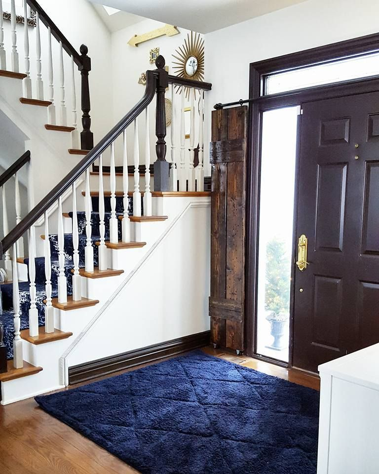 Redheadcandecorate Com S Home Tour Foyer Pinterest Redheads Wood Shutters And Decorating