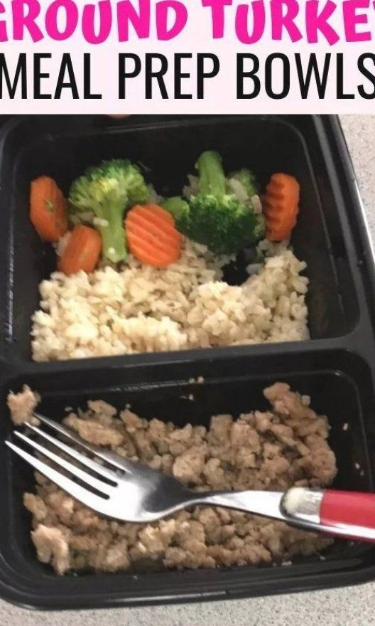 Looking for easy turkey meal prep recipes  This ground turkey meal prep is my favorite because it s...