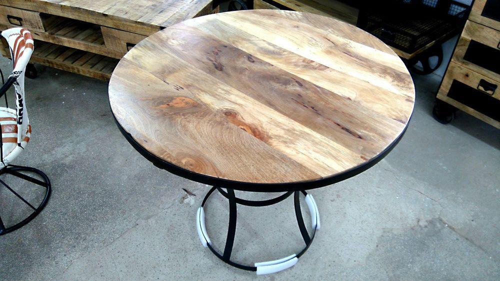 Design Esstisch Rund O 90 Cm Holztisch Kuchentisch Tisch