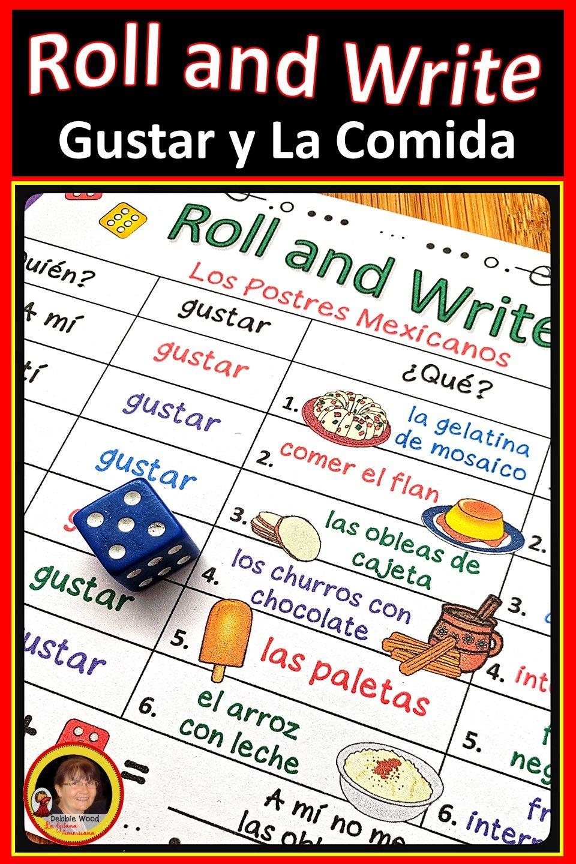 Spanish Food Activities Spanish Verb Gustar Spanish Learning Activities Learning Spanish Spanish Lessons [ 1440 x 960 Pixel ]