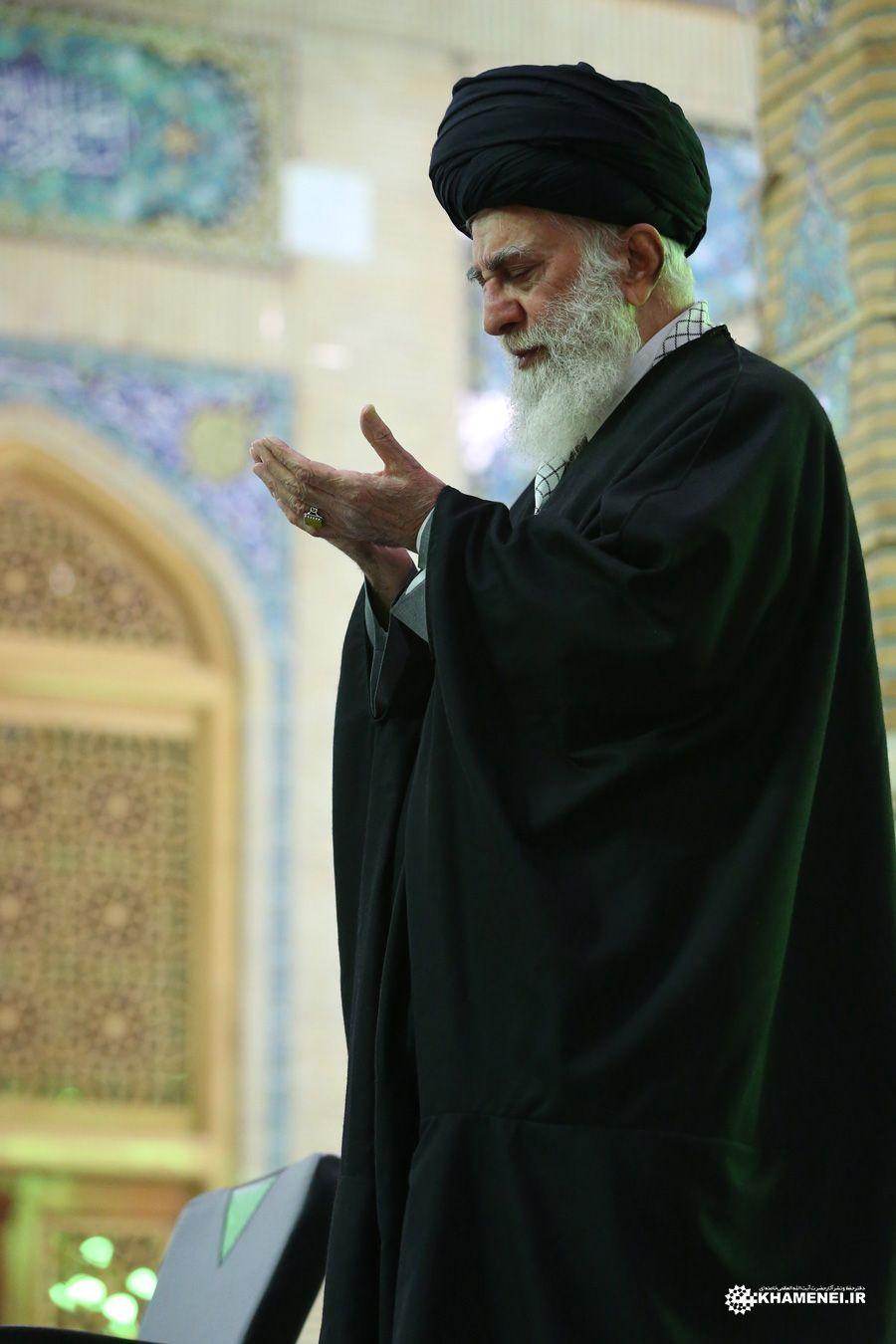 Khamenei سید علی خامنه ای رهبر ایران انقلاب اسلامی ایران