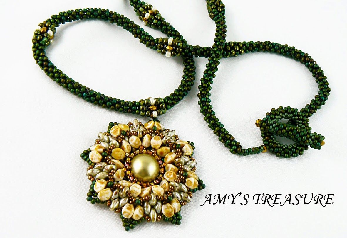 Amy's treasure tubular peyote