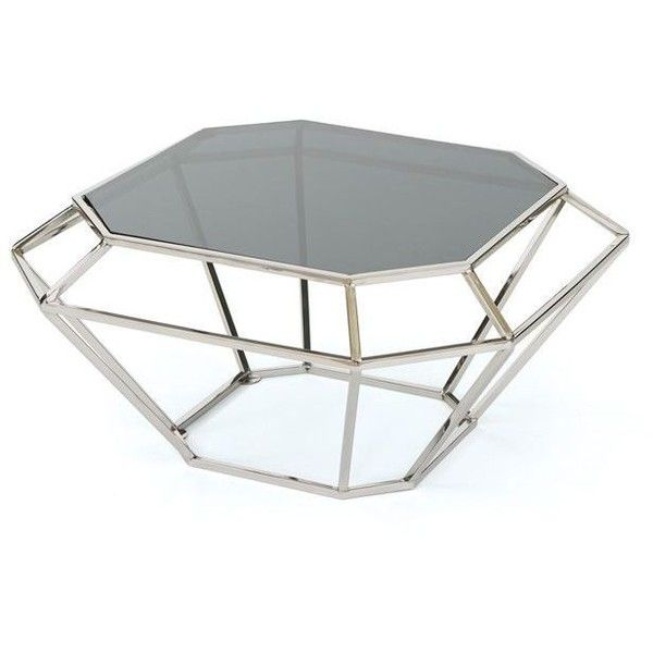 Go Home Decatur Coffee Table Iron And Glass By (¥114,490) ❤ liked on Polyvore featuring home, furniture, tables, accent tables, glass accent table, iron table, iron glass coffee table, iron coffee table and glass iron table