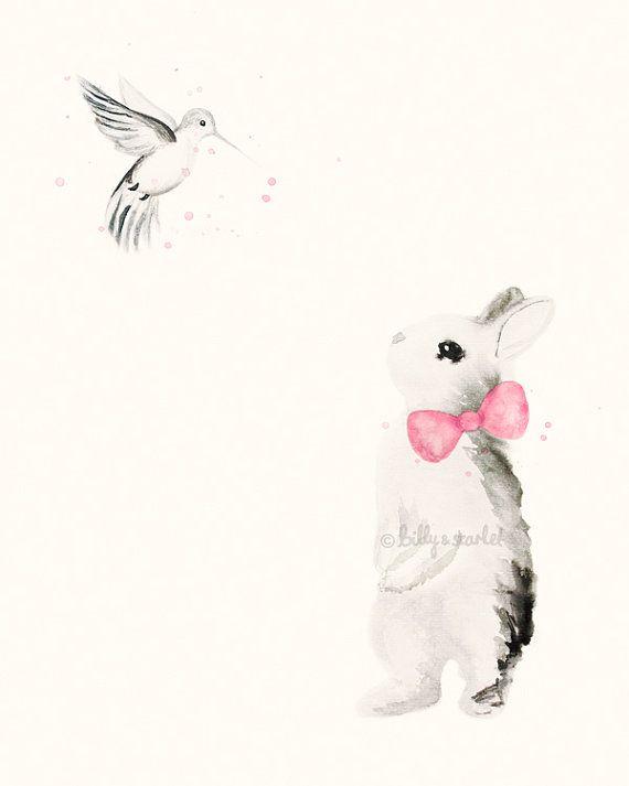 Baby Girl Nursery Decor, Set of 3 8x10 / A4 Art Prints, Pink Shabby ...