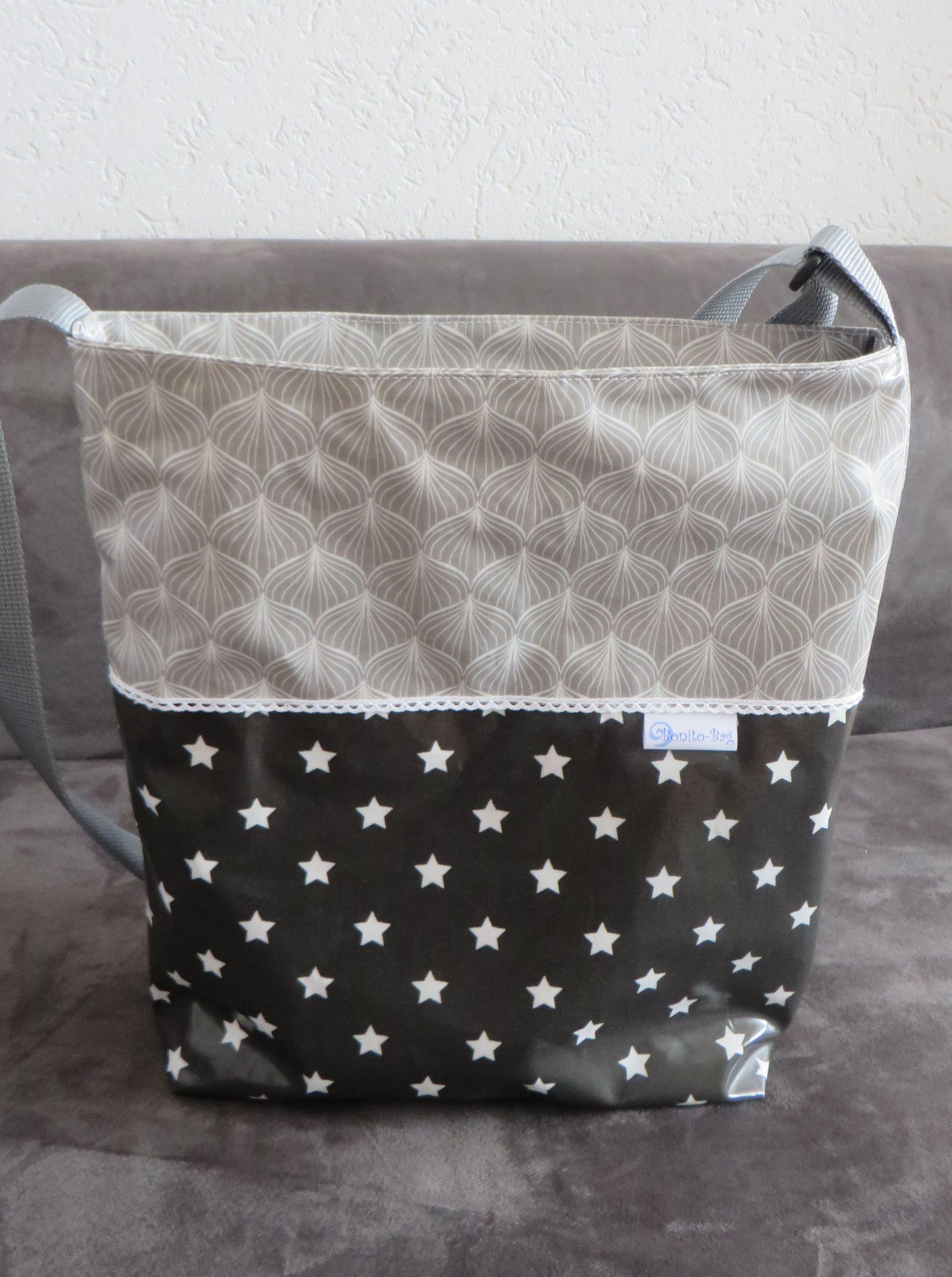 Shopper Tasche Aus Wachstuch Taschen Nahen Wachstuch Taschen