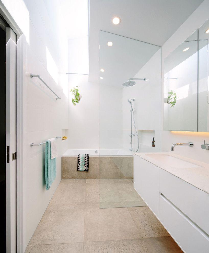 wet-area-bathroom-design-contemporary-bathroom-with-white-countertop ...
