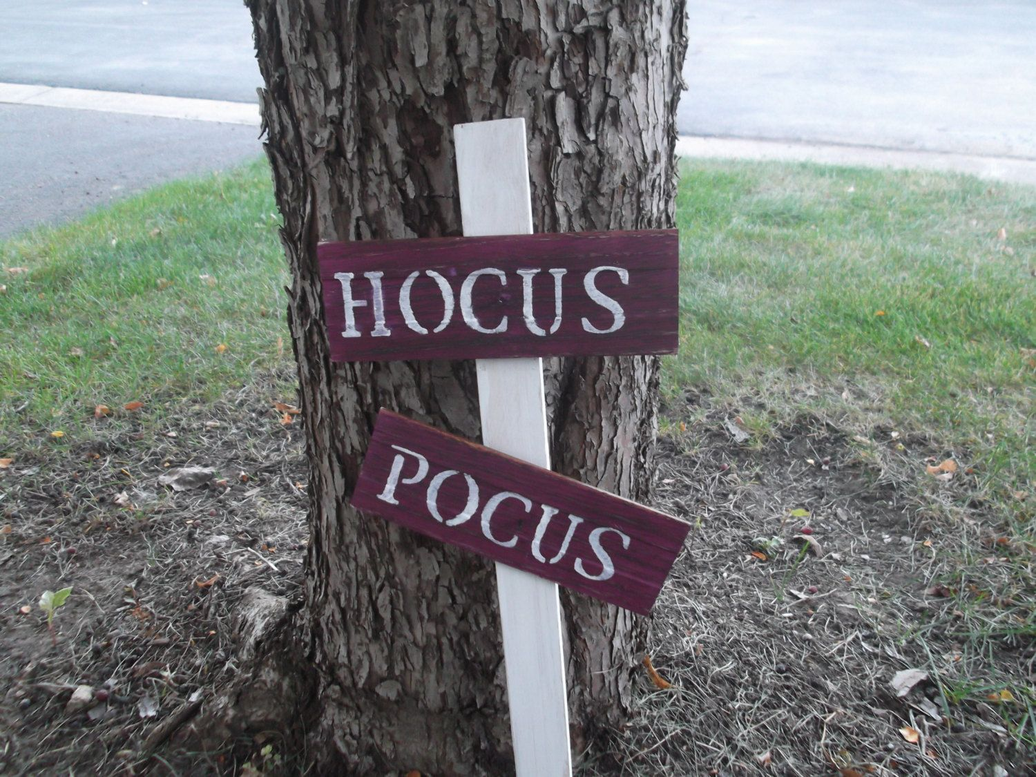 Rustic Hocus Pocus Sign, Halloween Decor, Halloween Decoration - Witch Decorations For Halloween
