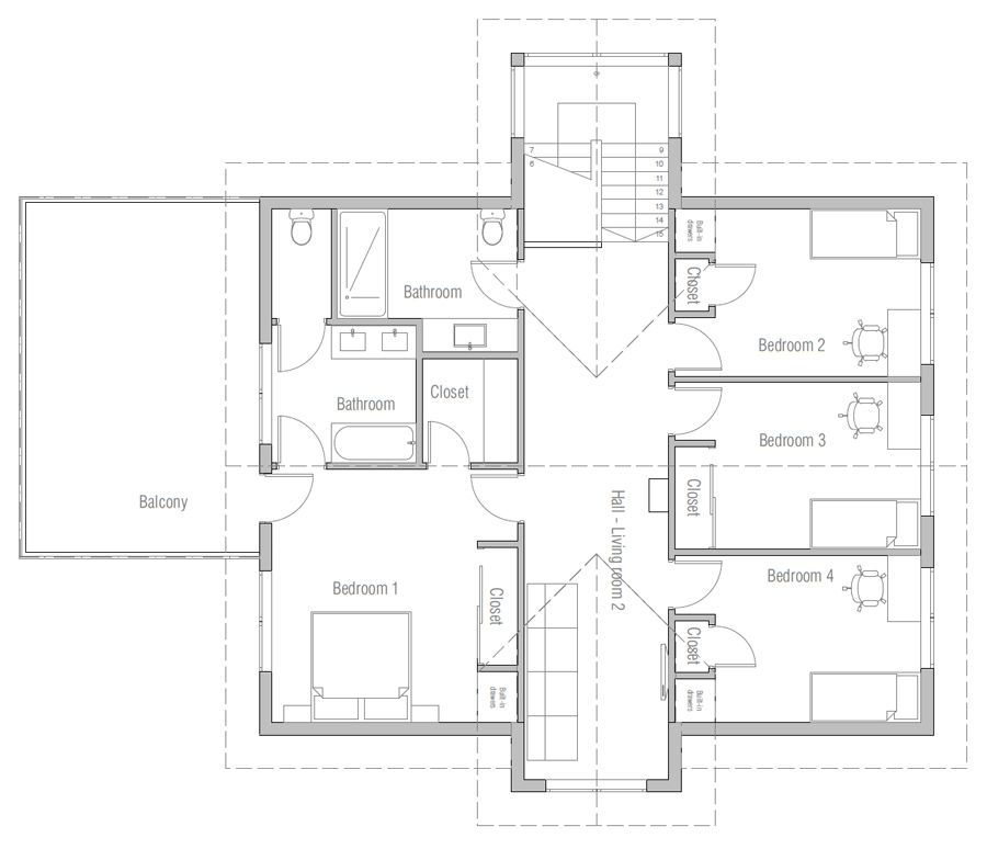 House Design House Plan Ch485 11 House Plans House Designs Exterior How To Plan