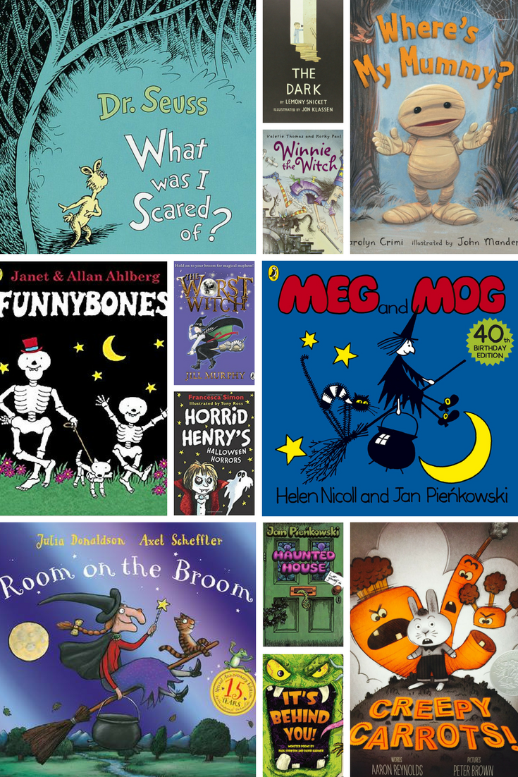 KS1 'THE WITCHING HOUR' Spooky books for younger