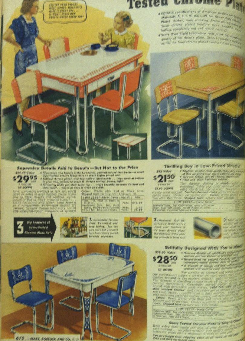 sears & roebuck: 1941 | Vintage kitchen, Vintage furniture ...