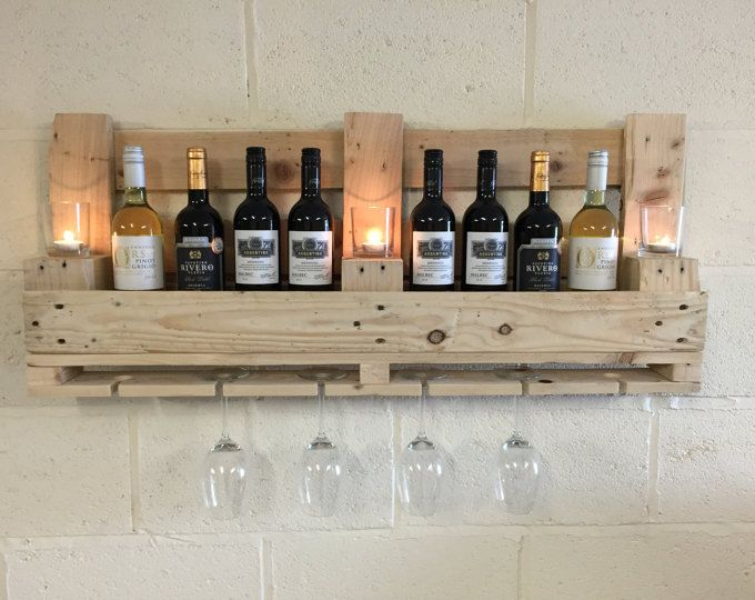 Upcycling Pallet Rack Flambeed Bar Wine Rack From Epal Pallet