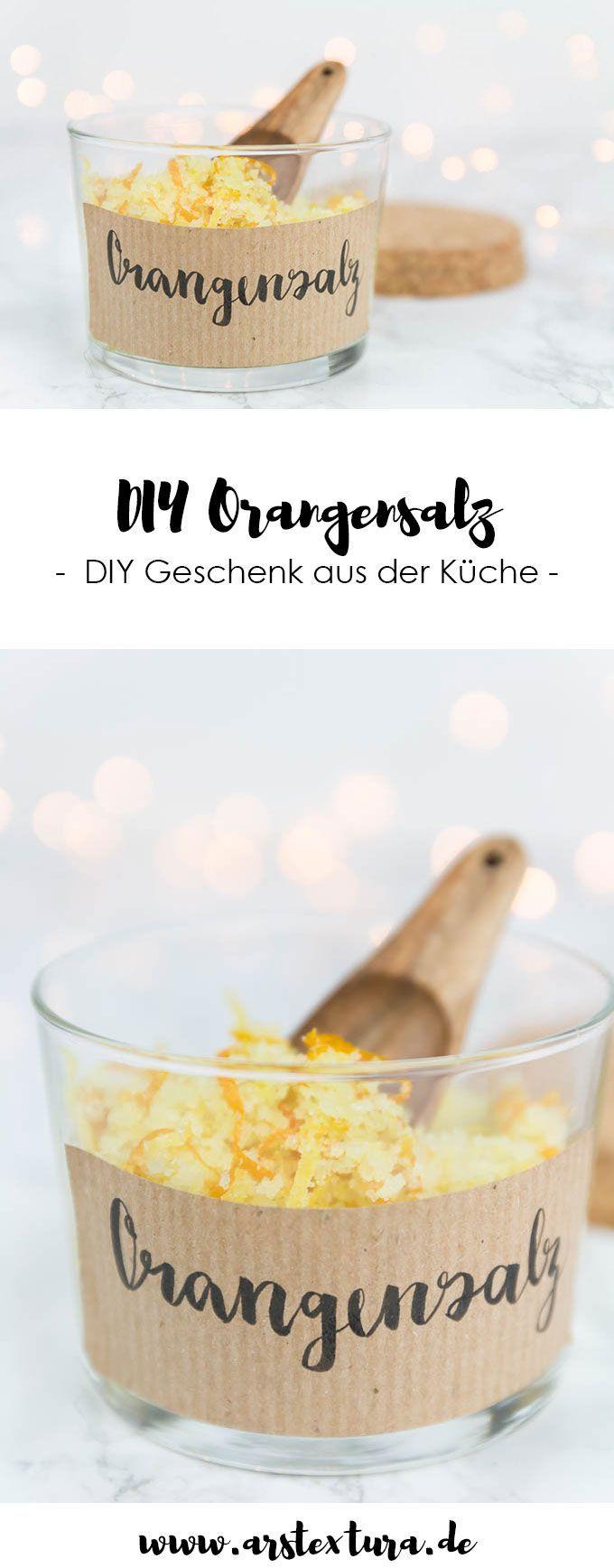 DIY Kräutersalz selber machen | Geschenke Ideen und Verpackungen DIY ...