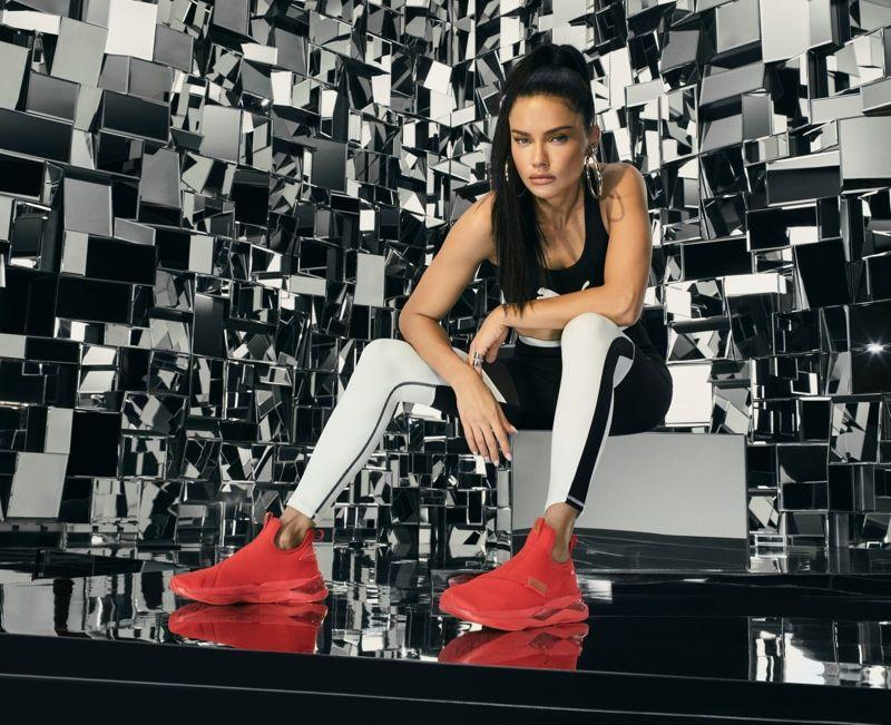 Adriana Lima Breaks the Mold in PUMA Sneaker Campaign in