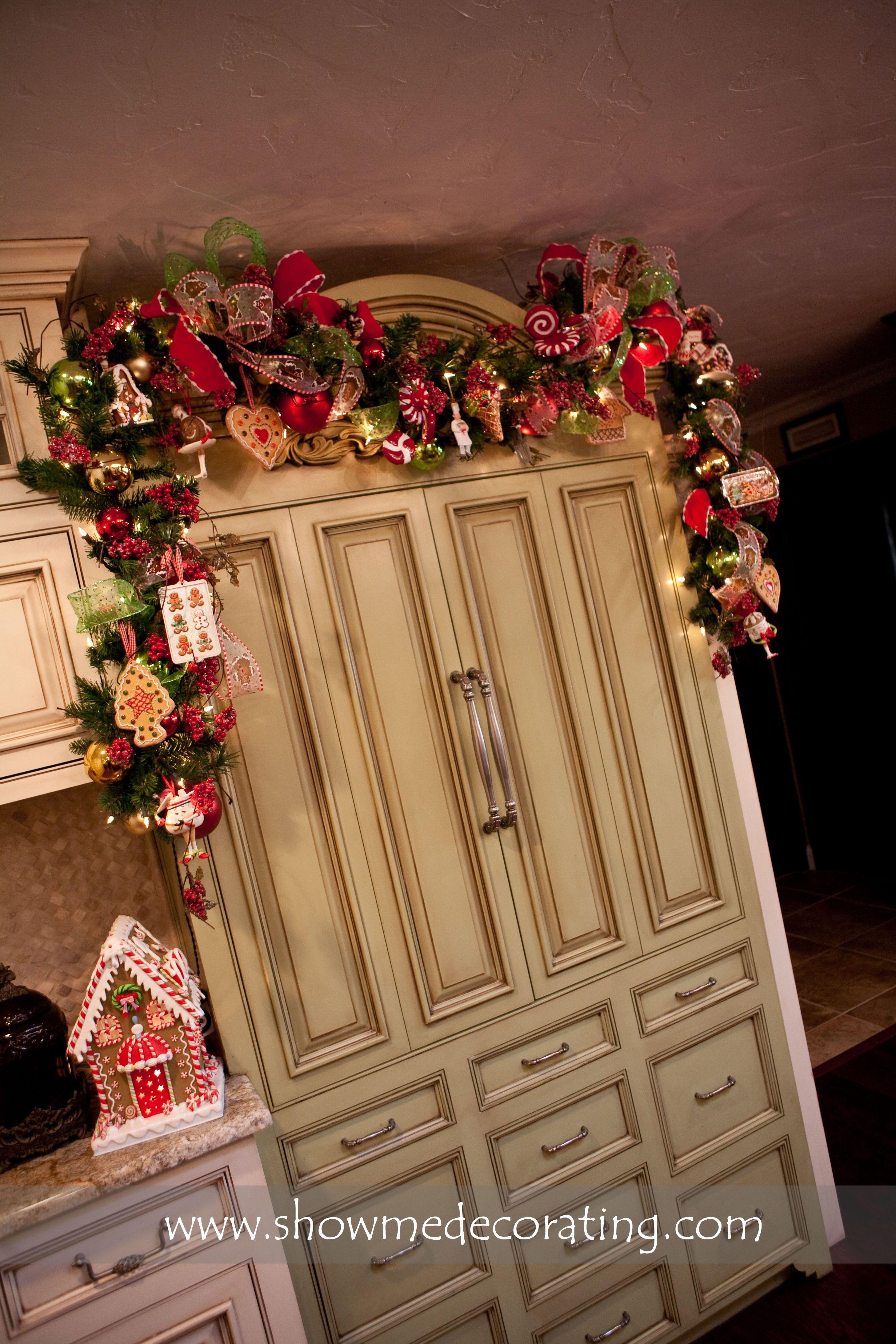 amazing kitchen christmas garland | Cookie Kitchen Garland | Christmas, Gingerbread christmas ...