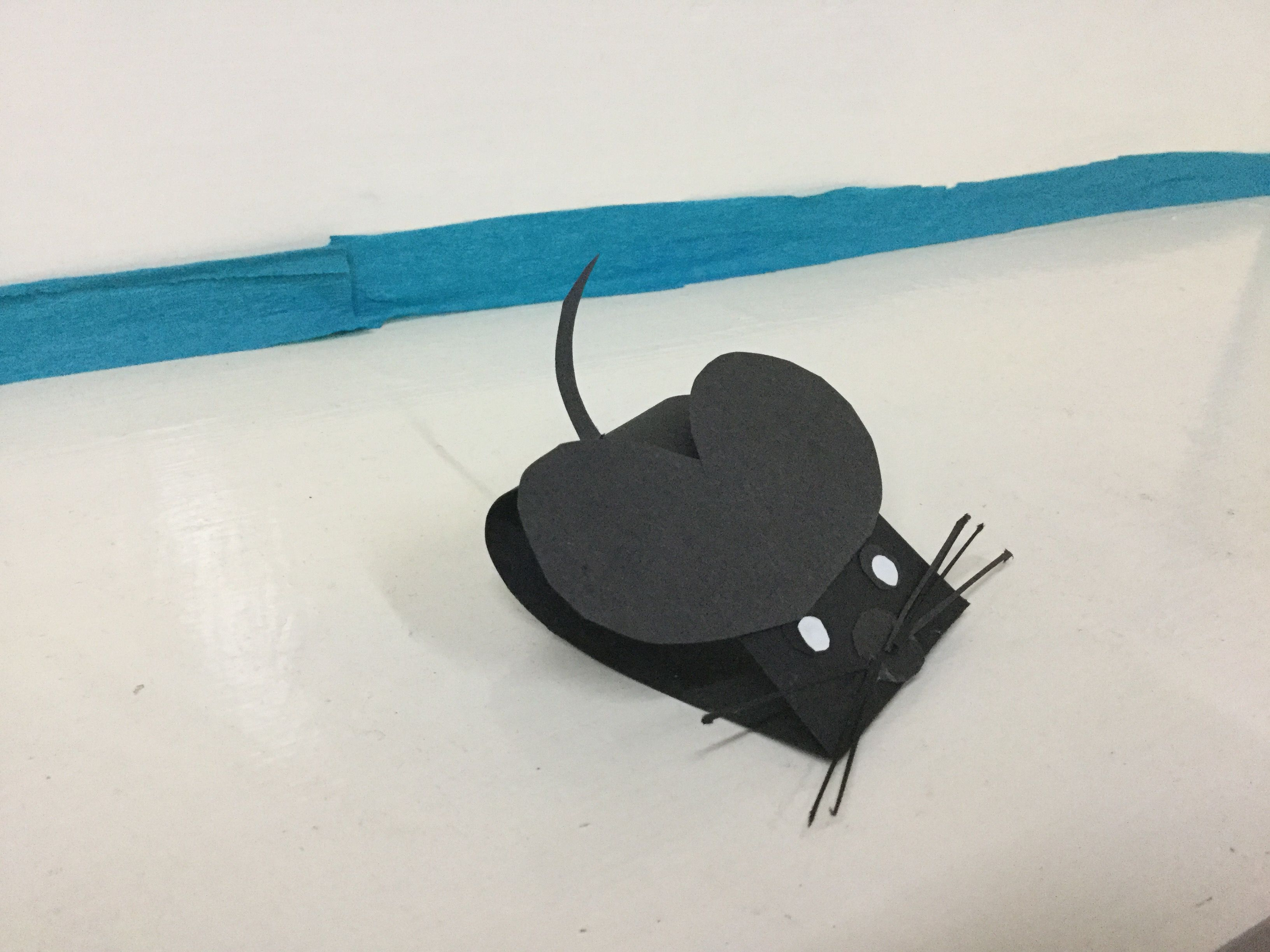 paper craft of mouse