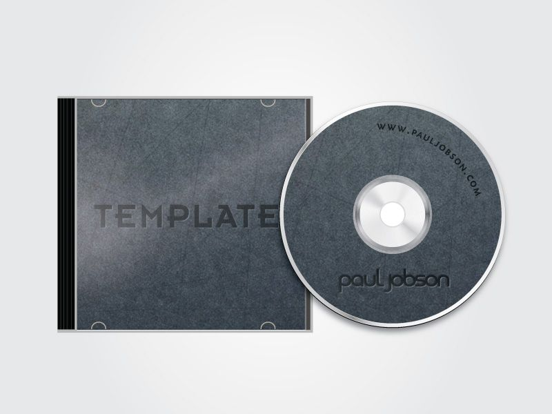 Vector Cd And Cd Case Template  MockUp    High School Art