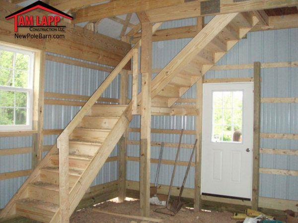Horse Barn Polebarn Building Gilbertsville Residential