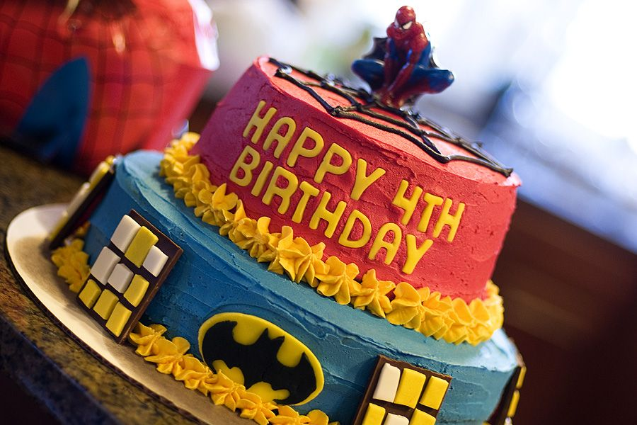 super hero cake Toddler Birthday Cakes Pinterest Superhero