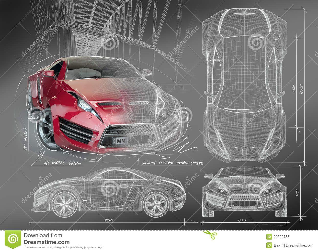 Graphic design vehicle blueprint google search spec sheets graphic design vehicle blueprint google search malvernweather Gallery