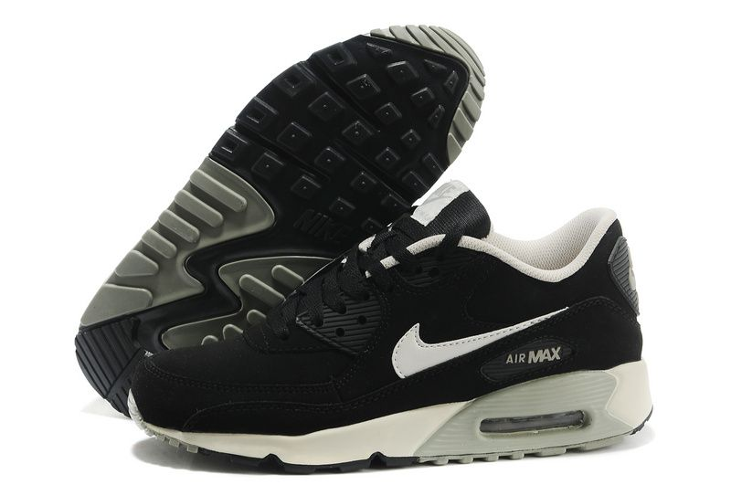 finest selection 09f17 883b5 2015 Sale Shoes Halfoff Mens Nike Air Max 90 Fur Black Grey White Shoes -  Click Image to Close