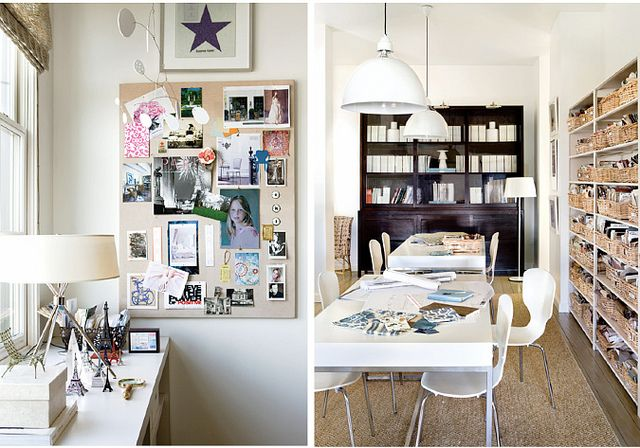 organized + clean workspace