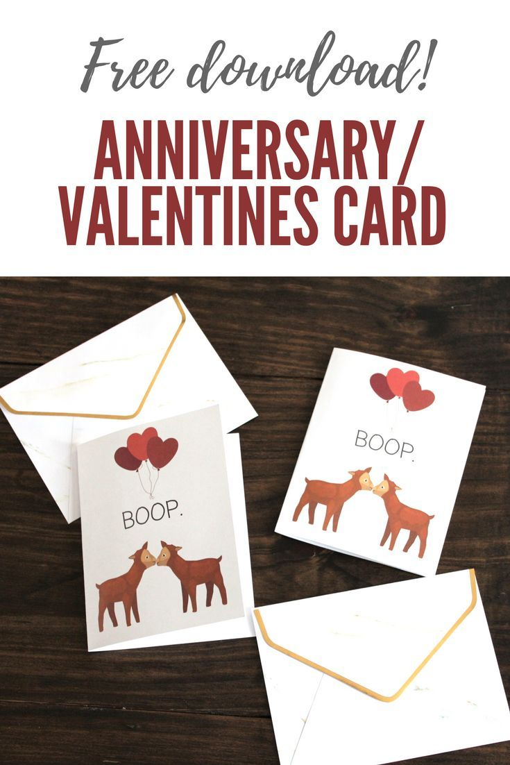 Free card download anniversary valentines day or