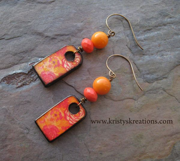 Coral Blooms by Kristy Abner, www.kristykreations.com