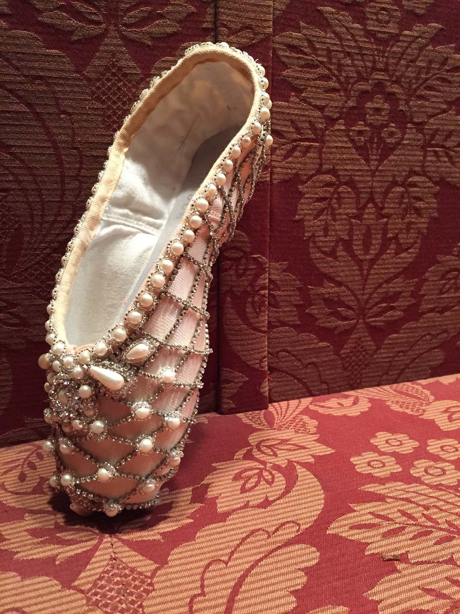 Marchesa For ABT S Th Anniversary Exhibition Curated By Hamish - Abt ballet shoes