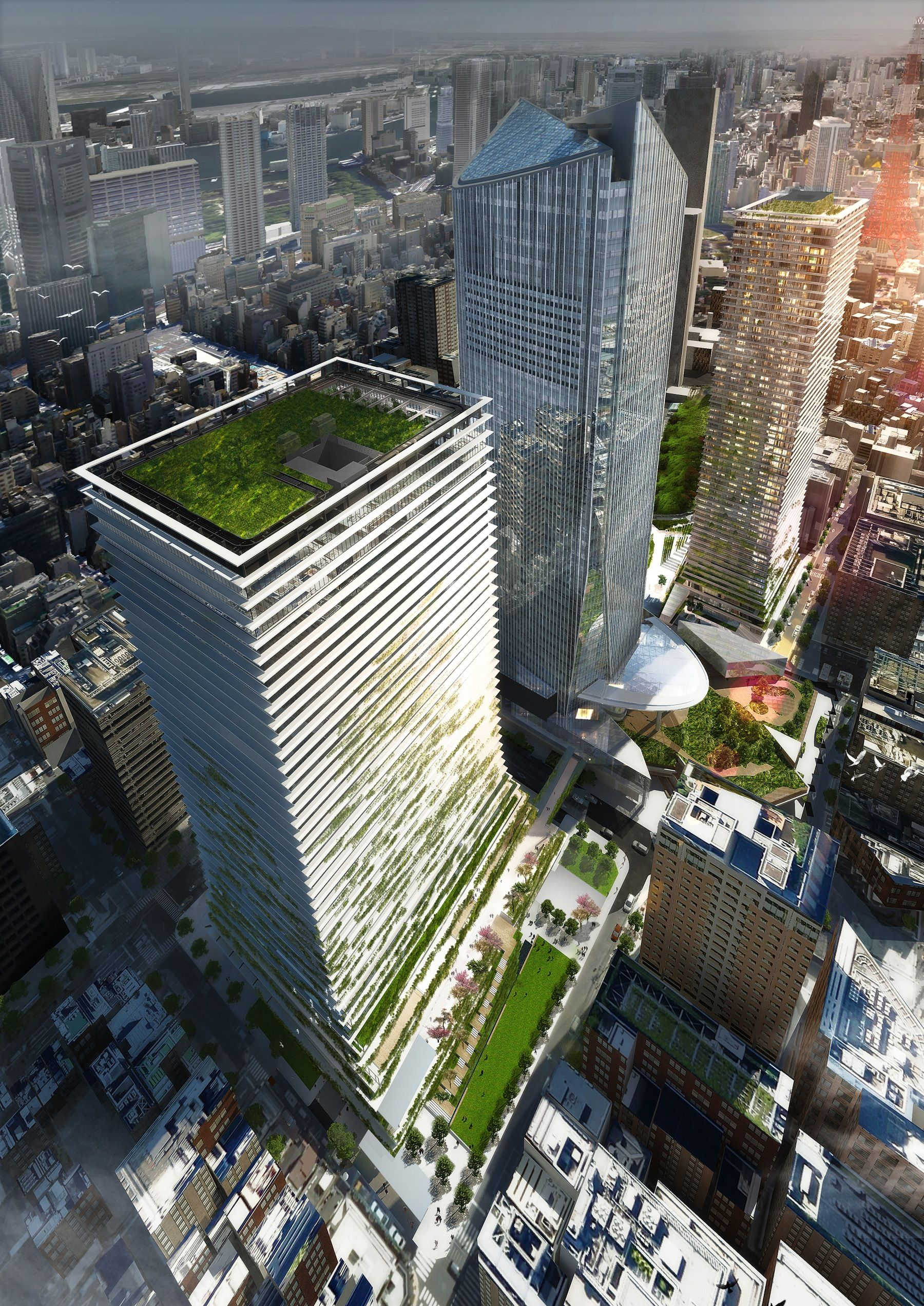 Pinterest - 384ft tall apartment will be the worlds first building to be covered in evergreen trees