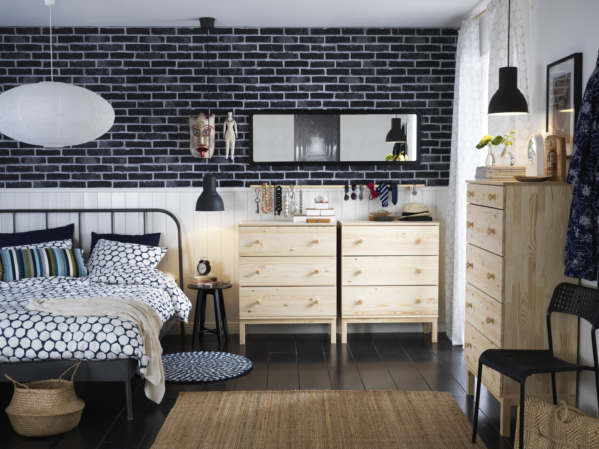 Ikea Ladenkast Grenen.Tarva Ladekast 3 Lades Grenen In 2019 One Day Ikea Furniture