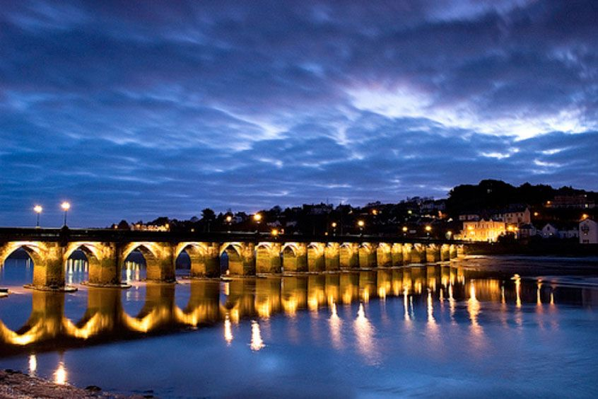 The Historic Bideford Bridge