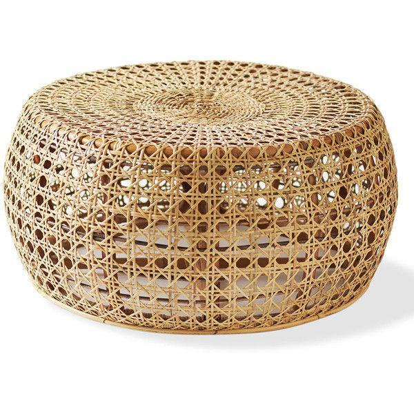Rattan Diamond Coffee Table 1 695 Sek Liked On Polyvore Featuring Home Furniture Tables Accent Tables Decor Diamond Furniture Rattan Inredning Flator