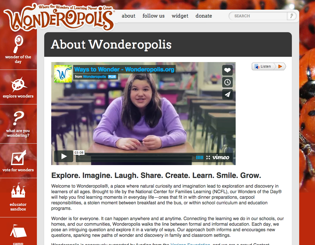 Wonderopolis Review for Teachers (With images ...