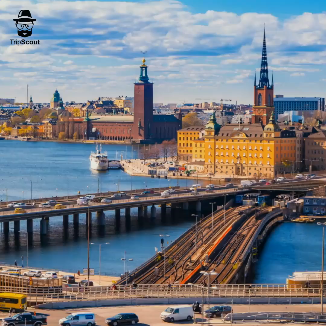 Stockholm has modern art, cutting-edge design, and noteworthy architecture, all set among the cobblestoned streets of the Old Town, where many buildings date back to the 1700s.⠀ .⠀ Wanna explore #Stockholm #Sweden? Use our trip planning tools to research & build the perfect travel itinerary. Get the FREE app now + link in bio⠀ ⠀ .⠀ .⠀ .⠀ #travelapp #TripScouting #mytinyatlas #DigitalNomad #instatravel #travelgram #beautifuldestination #aroundtheworld #exploremore #travelphotography