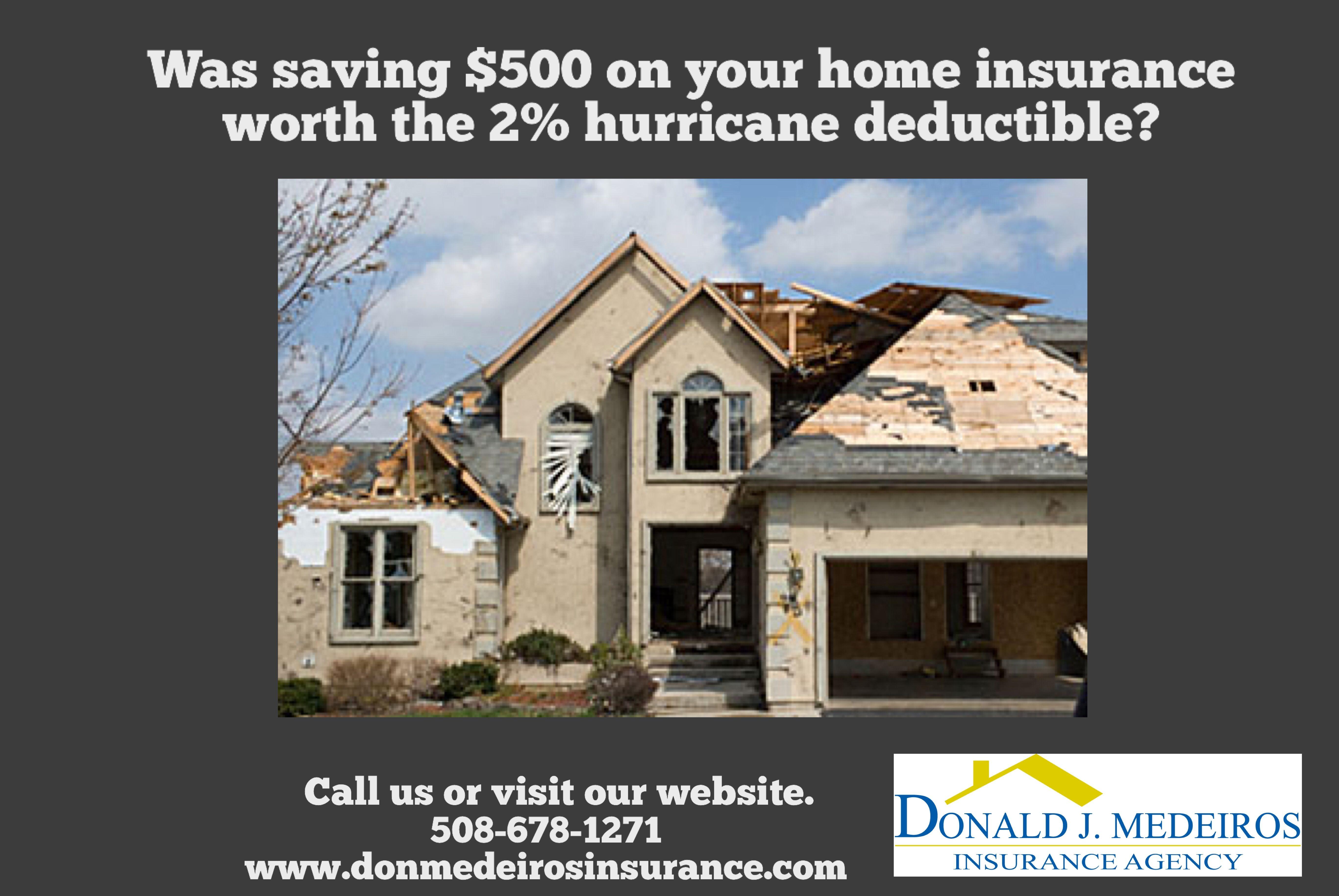 Hurricane Season Officially Starts June 1st Insurance Agency Fall River Massachusetts Home Insurance