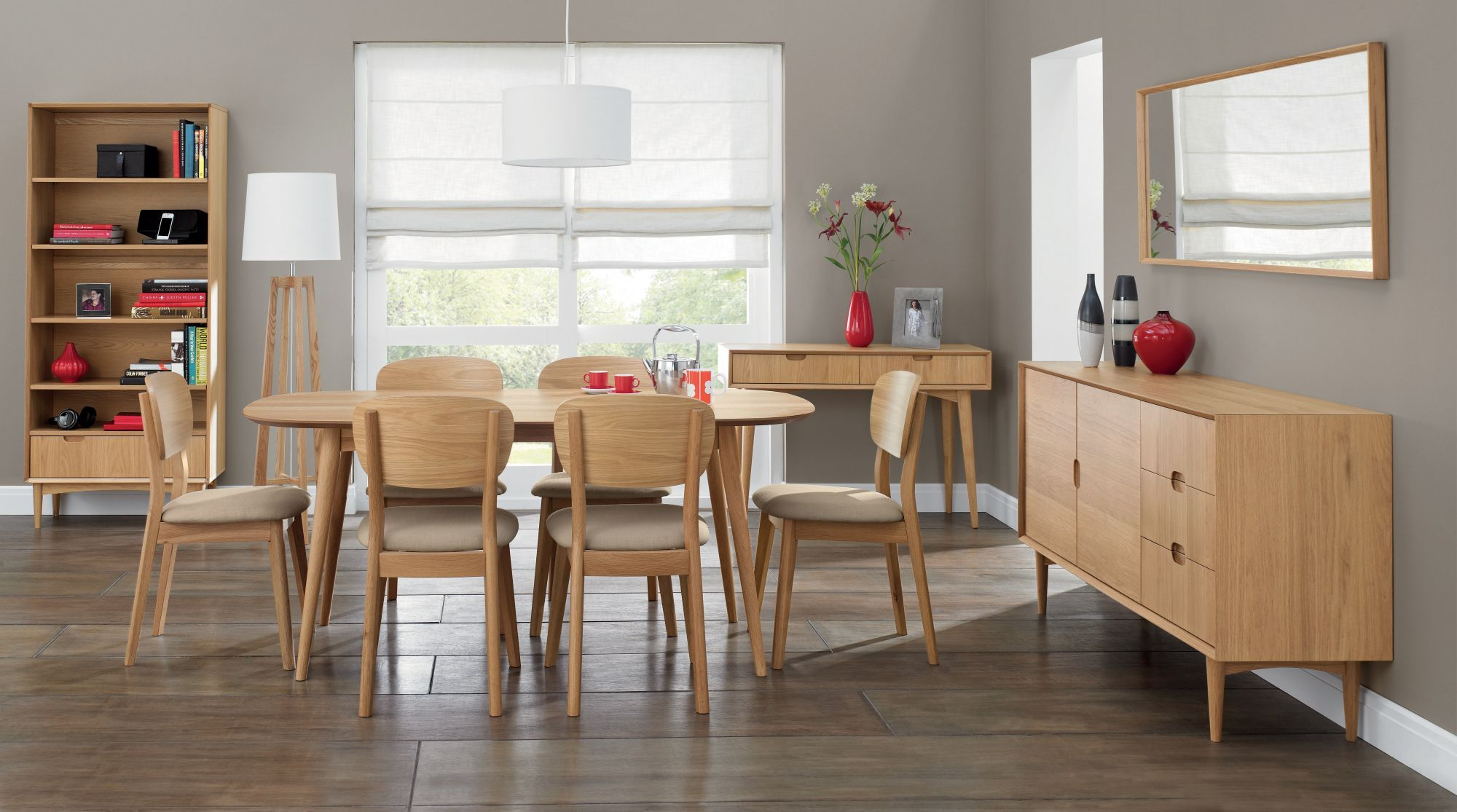 Pinchristine Leeson On Dining Tables  Pinterest  Dining Impressive Oak Dining Room Table And 6 Chairs Inspiration Design