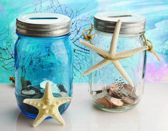 Fathers Day Coin Jar   100 Year by BeachCottageBoutique on Etsy, $14.95