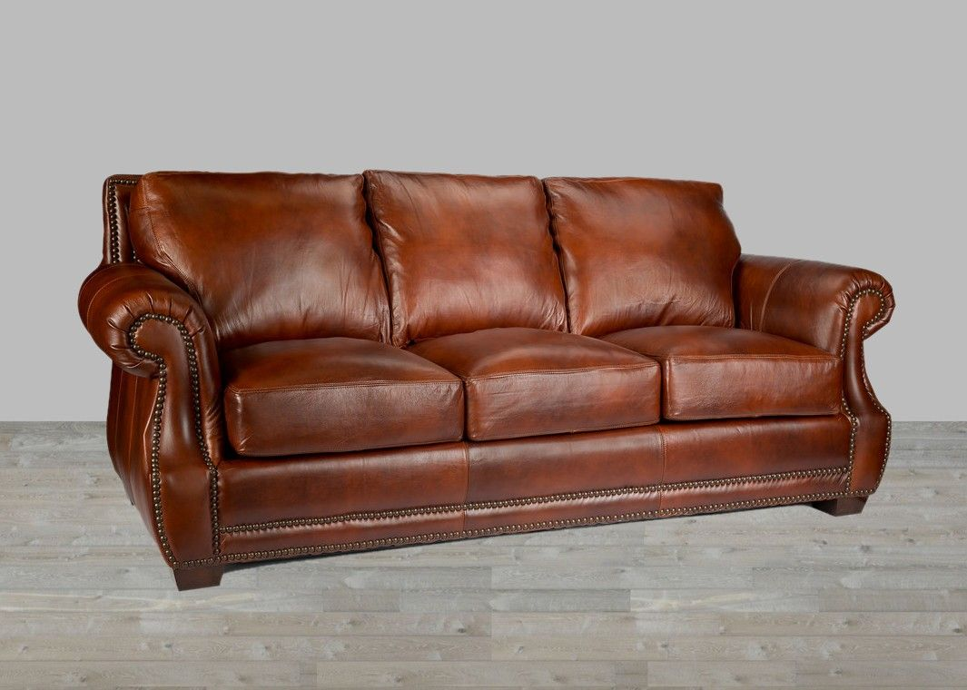 100 Full Grain Leather Sofa Made In Usa Top Grain Leather Sofa