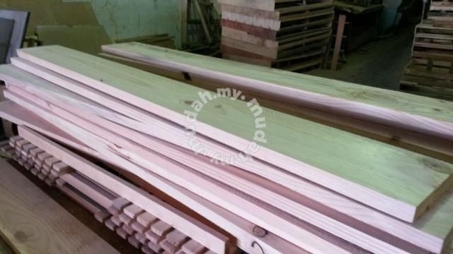 Kayu Pallet Pine Siap Ketam Furniture Decoration For