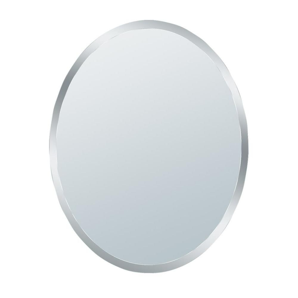 Deco Mirror, 31 In. Small Beveled Oval Mirror, 1845 At The Home Depot    Tablet Bathroom Mirror